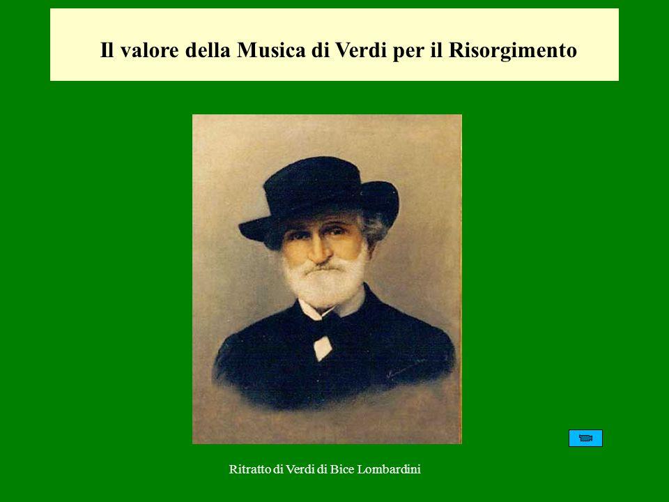 Nel 1840, Verdi è colpito da eventi dolorosissimi: prima, dalla perdita di due figli, poi dalla morte della moglie Margherita.