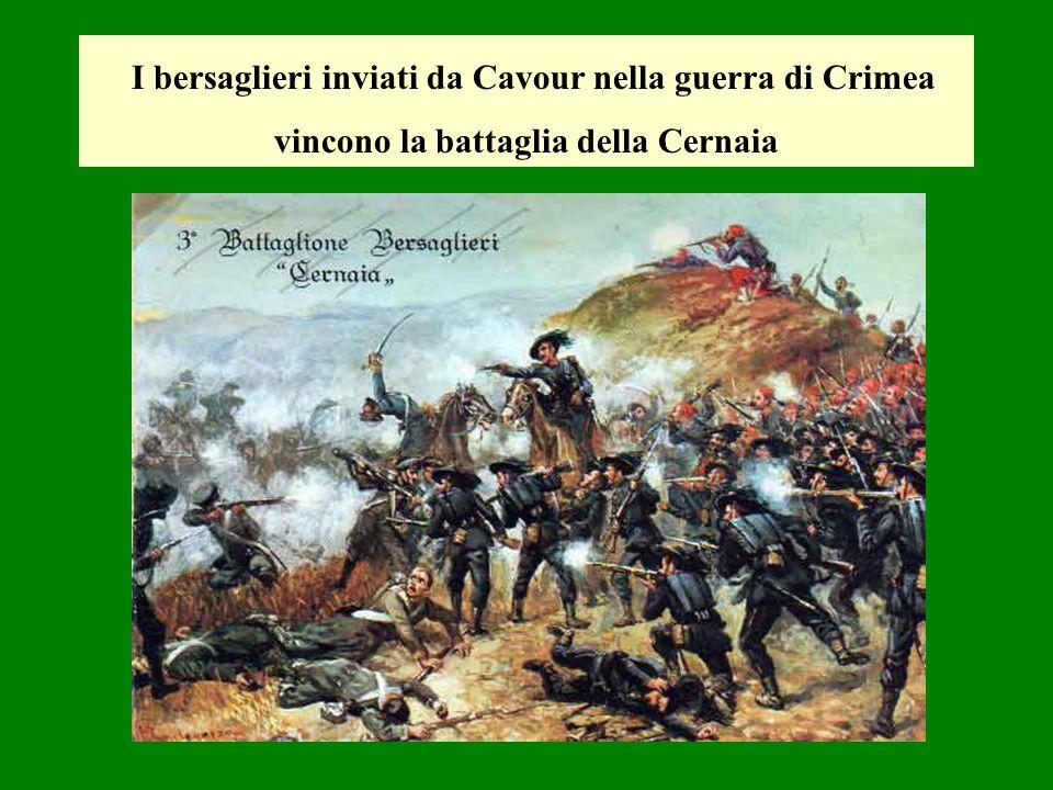 I bersaglieri inviati da Cavour nella guerra di Crimea vincono la battaglia della Cernaia