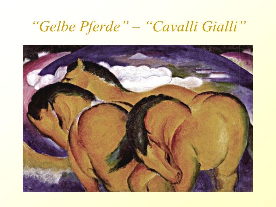 Cavallo Blu, Franz Marc Henri Matisse, Pesci Rossi