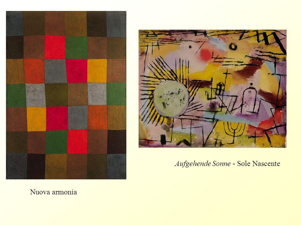 Al riparo Graffiti, ripresa della purezza artistica africana Gefangen , Paul Klee (1939)