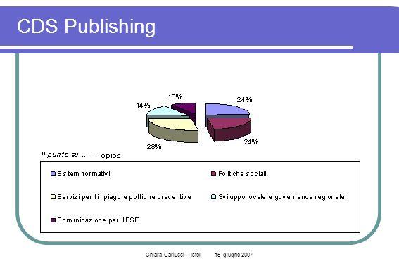 Chiara Carlucci - Isfol 15 giugno 2007 CDS Publishing
