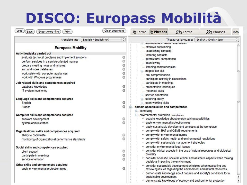 3s Unternehmensberatung, www.3s.co.at DISCO: Europass Mobilità