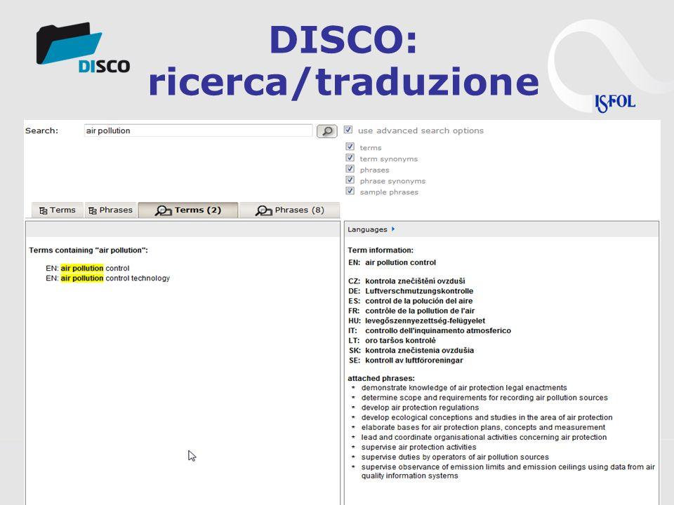3s Unternehmensberatung, www.3s.co.at DISCO: ricerca/traduzione