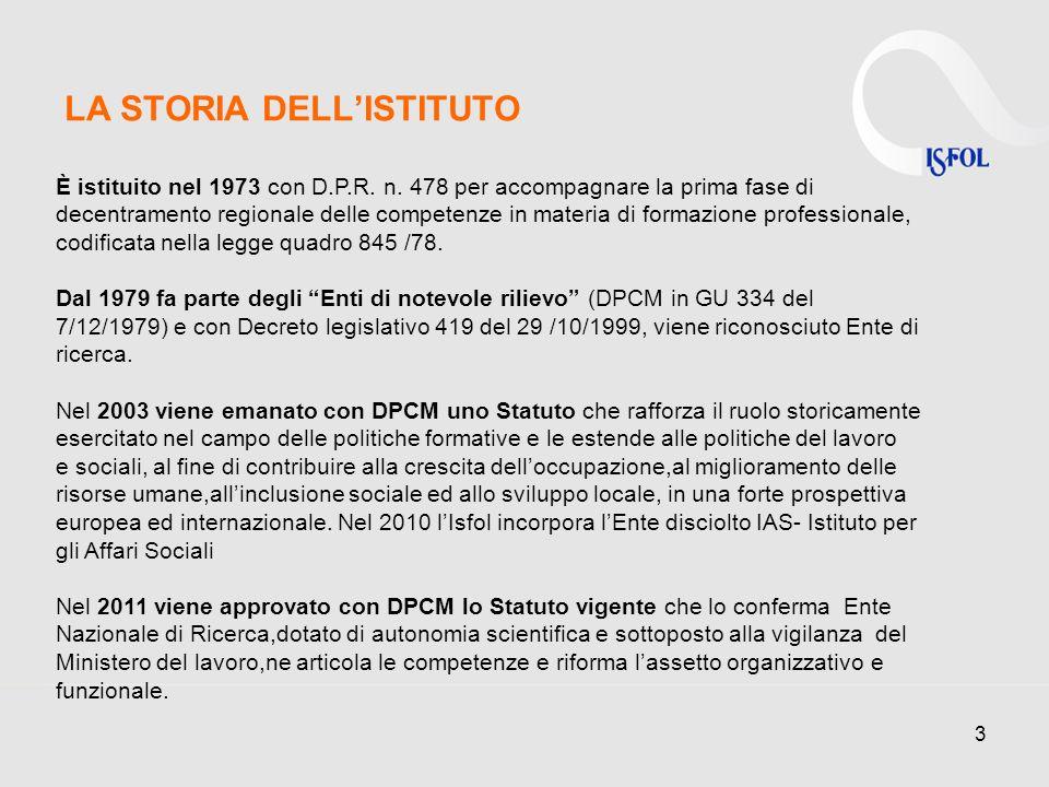 3 LA STORIA DELLISTITUTO È istituito nel 1973 con D.P.R.