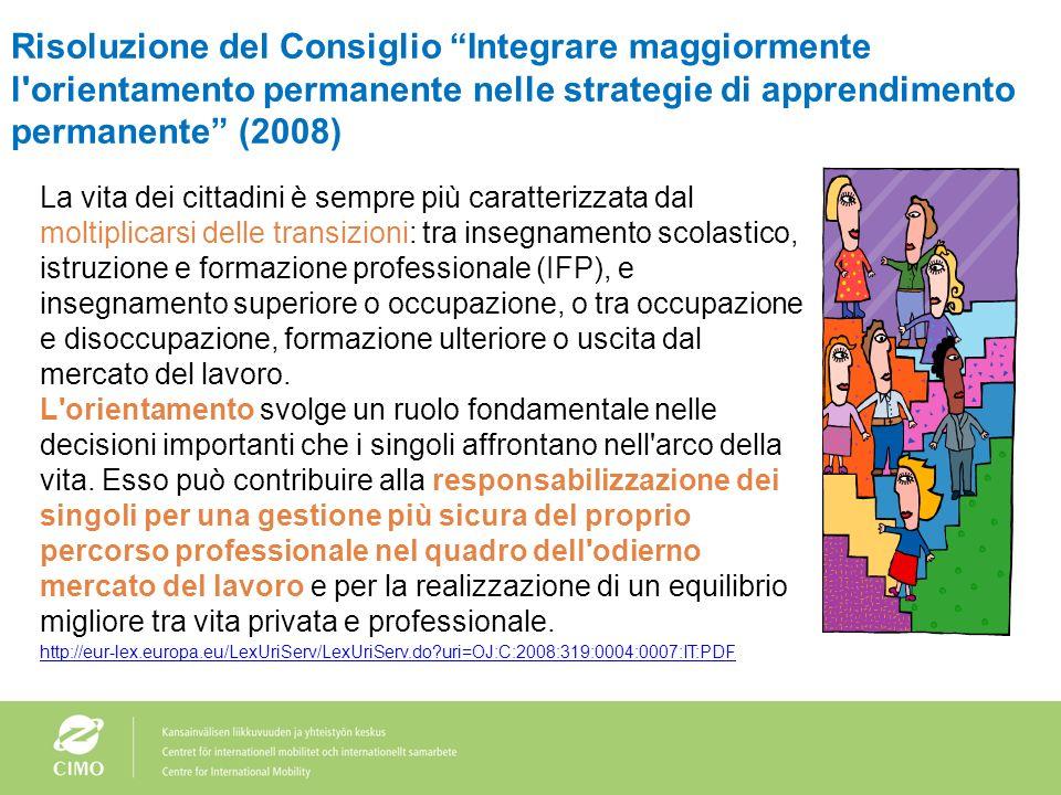 Limportanza delle capacità e delle competenze per i datori di lavoro nellassunzione di diplomati e laureati CE, 2010. La percezione delloccupabilità d