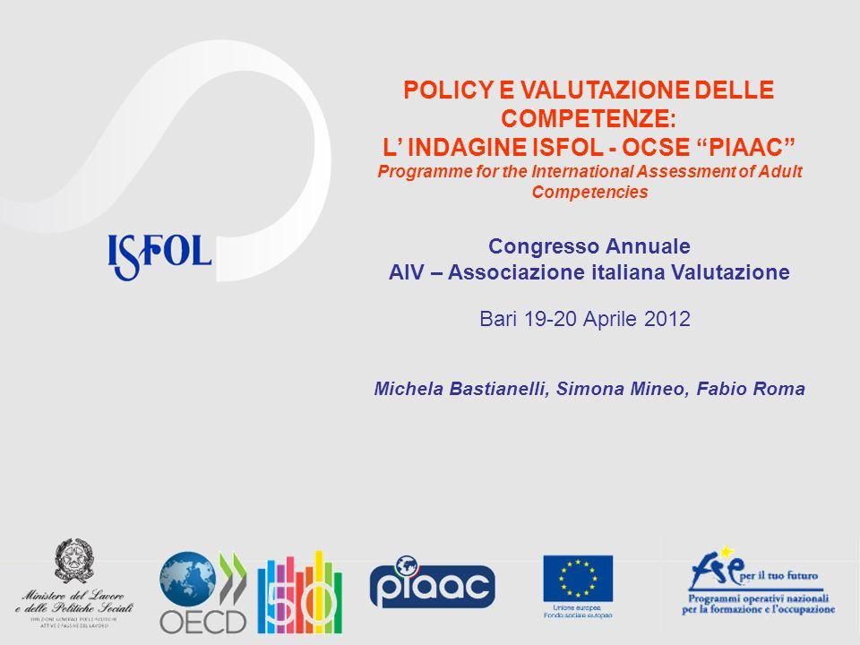 2 Argomenti Contributi delle indagini OCSE allevidence based policy nellistruzione Traduzione o potenzialità di traduzione dei risultati delle indagini OCSE in decisioni di policy Conclusioni