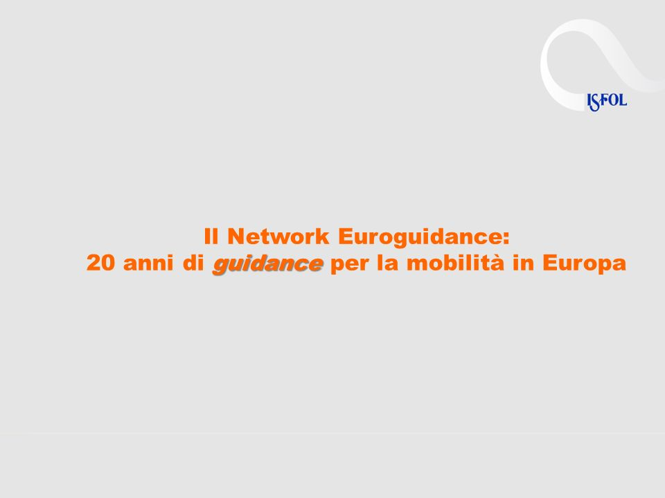68 Centri Nazionali in 34 Paesi 270 consulenti full time EG (nel 2011) Budget annuale 50% finanziato dal LLP + 50% contributo nazionale Austria Belgium Bulgaria Czech Rep.