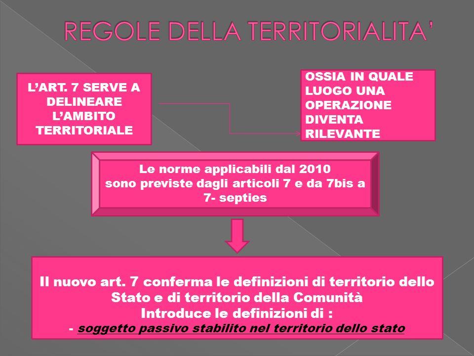 SE SI TRATTA DÌ B2C, IN BASE AI CRITERI DELLA TERRITORALITA,LOPERAZIONE SCONTA LIMPOSTA IN ITALIA E SI FATTURERA SECONDO LE MODALITAORDINARIE.