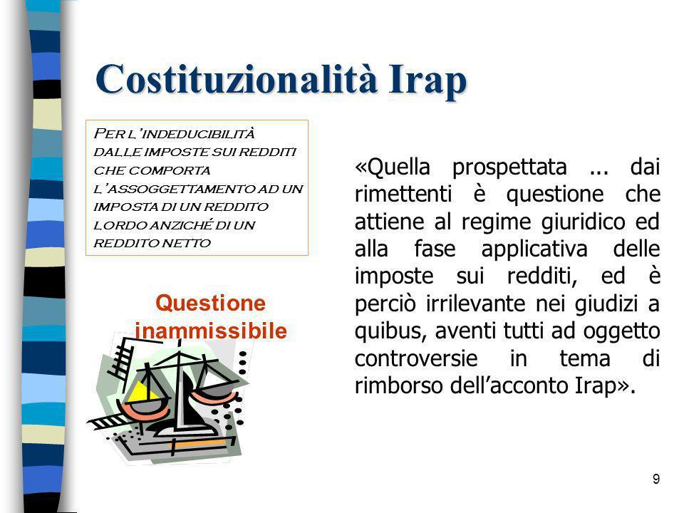 20 La posizione dellA.F.Ris. n. 32/E del 31 gennaio 2002 Agenzia delle Entrate - Dir.
