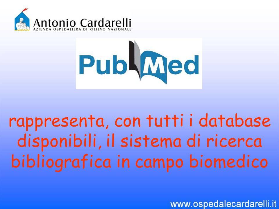 Pubmed è uninterfaccia web accessibile gratuitamente, sviluppata dal National Center for Biotechnology Information (NCBI), istituito dal 1988, presso la National Library of Medicine (NLM),a sua volta parte del National Institute of Health (NIH) di Bethesda (USA).