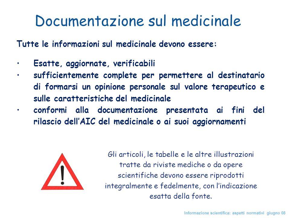 Gli articoli, le tabelle e le altre illustrazioni tratte da riviste mediche o da opere scientifiche devono essere riprodotti integralmente e fedelment