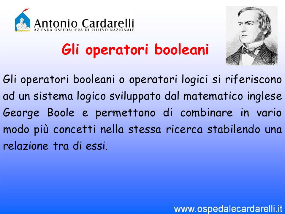 Operatori di base: OR, AND, NOT OR esprime la somma logica di due o più termini.