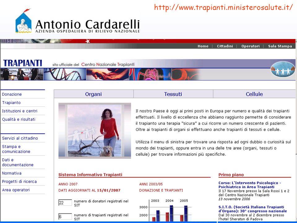 http://www.trapianti.ministerosalute.it/