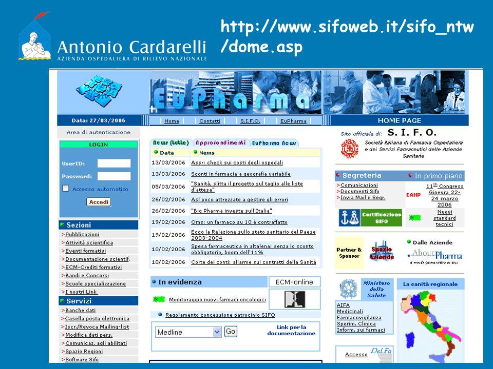 http://www.sifoweb.it/sifo_ntw /dome.asp