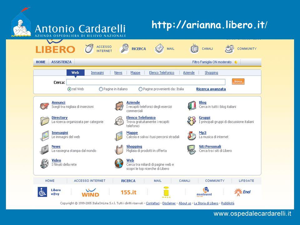 http://arianna.libero.it /