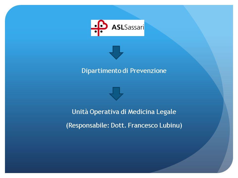 Lo staff: 1.Dott.Francesco Lubinu 2.Dott.ssa Patrizia Matera 3.Dott.
