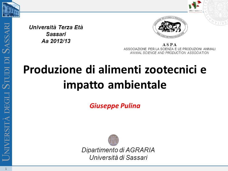 12 Consumi italiani di grano: p = 192,6 kg pro capite Resa agricola: r = 3,6 t/ha = 0,36 kg/m² Area necessaria: Quanti m² per i nostri consumi di grano.