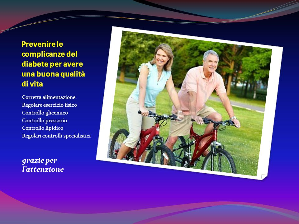 Target controllo lipidico Colesterolo totale <200 Colesterolo HDL >45-50 Colesterolo LDL <100 <70 Trigliceridi <150