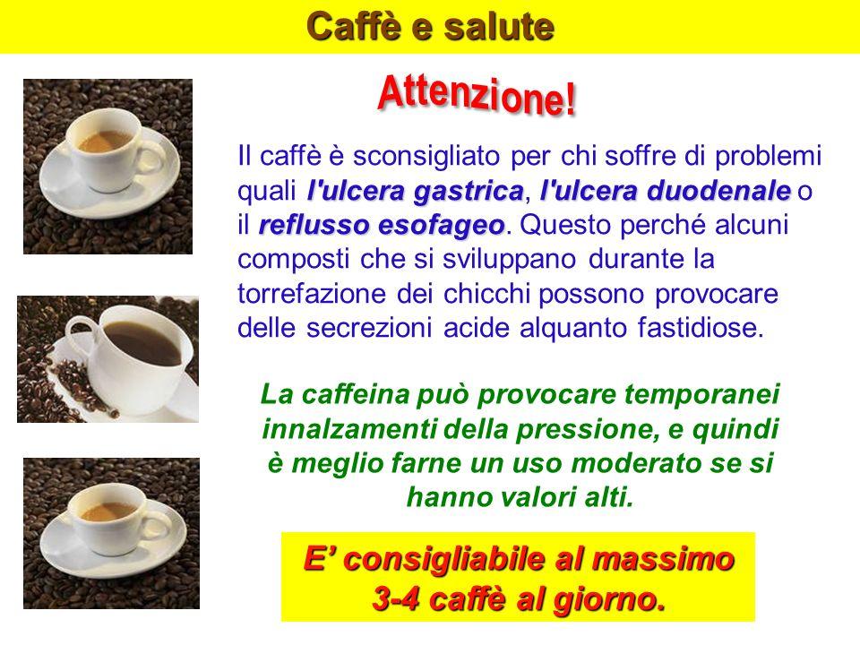 Caffè e salute l'ulcera gastrical'ulcera duodenale Il caffè è sconsigliato per chi soffre di problemi quali l'ulcera gastrica, l'ulcera duodenale o re