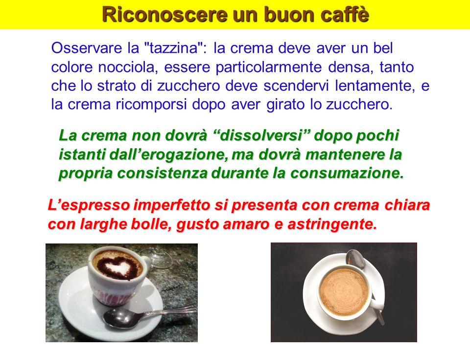 Riconoscere un buon caffè Osservare la