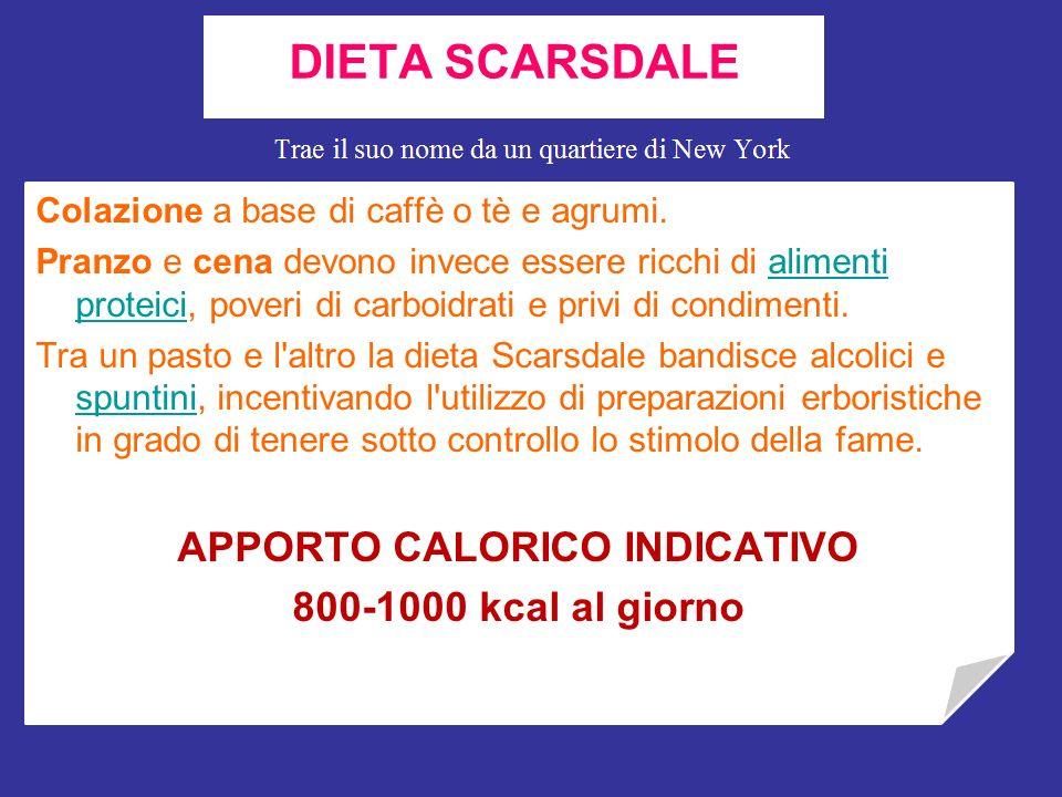 Sviluppata alla fine degli anni settanta dal Dottor Herman Tarnower, la dieta Scarsdale arriva a promettere una perdita di peso quantificabile in 450