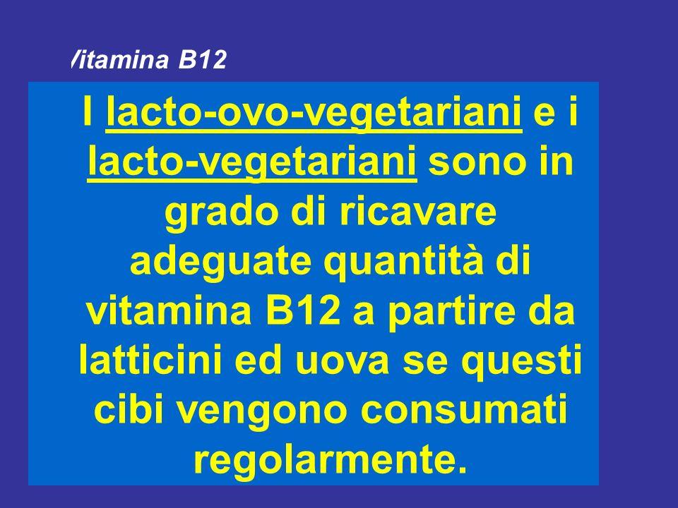 I vegetariani non sono a rischio di carenza di carboidrati e lipidi e sono in grado di soddisfare le esigenze nutrizionali per quanto riguarda le vita