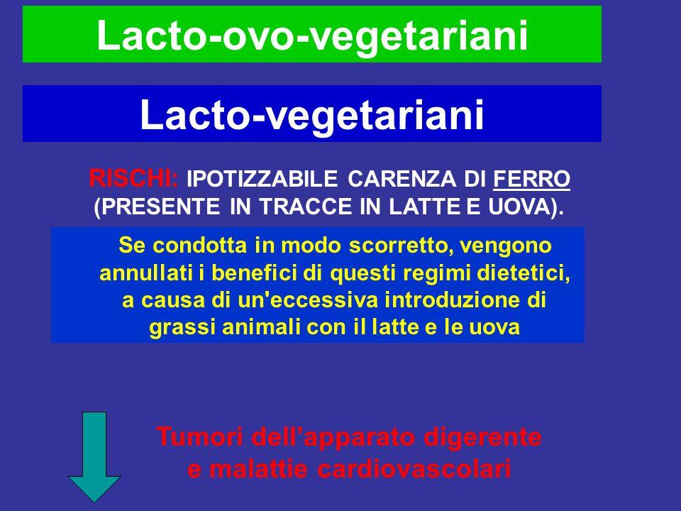 Quali sono i rischi in una dieta vegetariana?