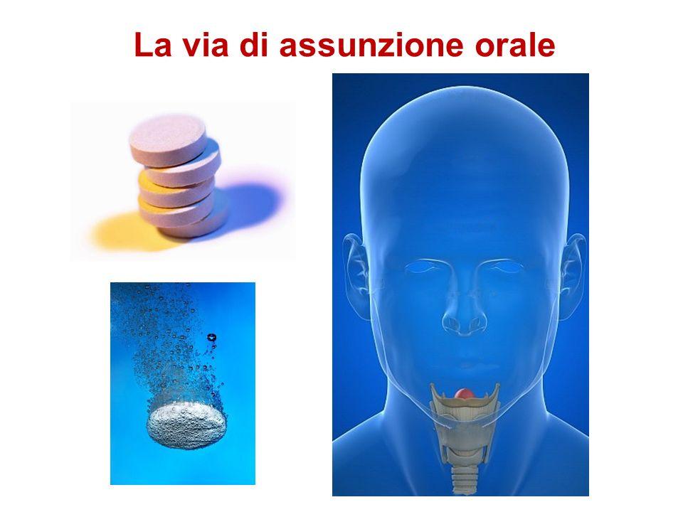 La via di assunzione orale