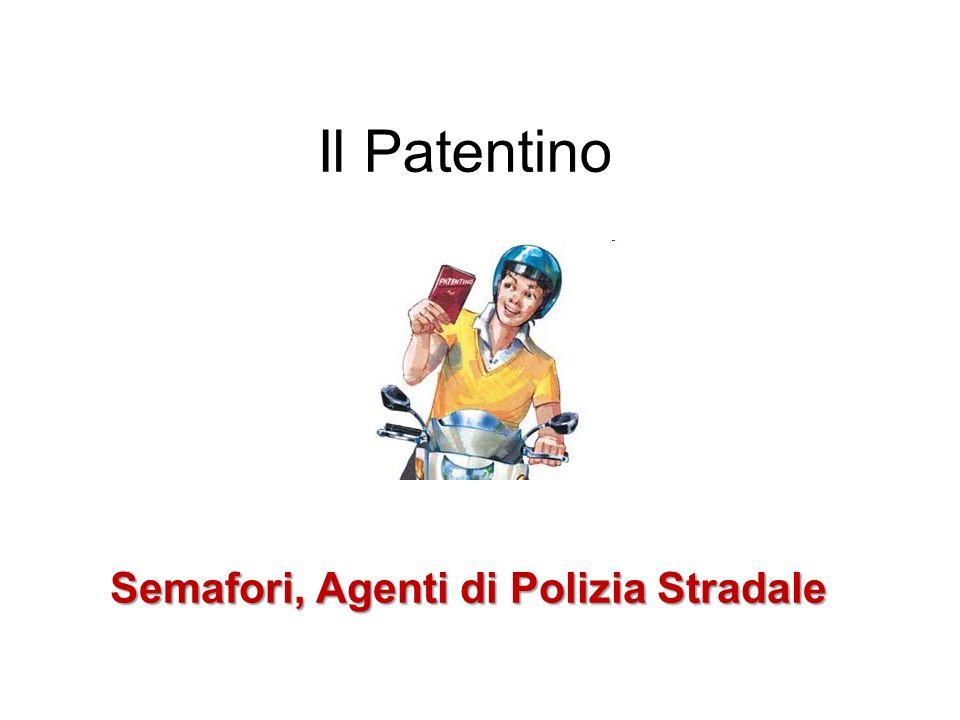 Semafori, Agenti di Polizia Stradale Gli addetti al servizio stradale si identificano con: l uniforme; il segnale distintivo; la paletta rigorosamente bianca e rossa.