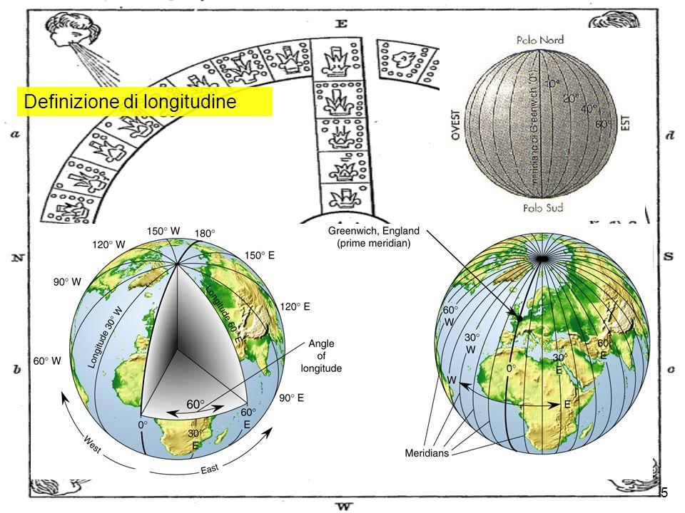 5 Definizione di longitudine