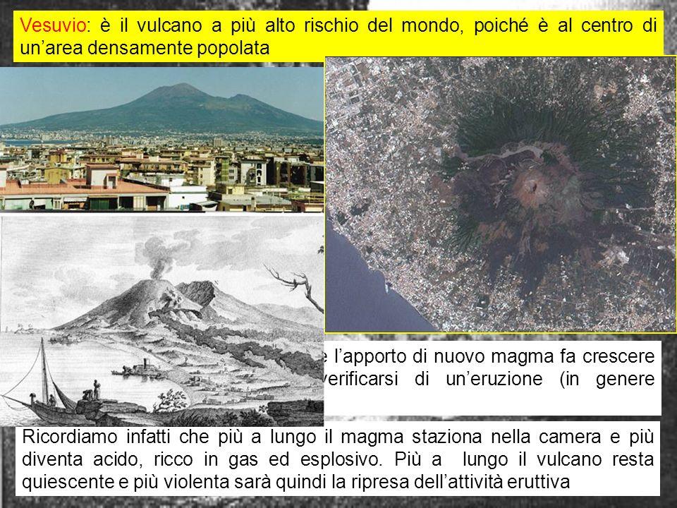vulcani italiani7 Le conoscenze storiche dellattività vulcanica del Vesuvio cominciano con la grande eruzione del 79 d.C., che chiude un periodo di riposo di alcuni secoli e viene descritta da Plinio il Giovane in due lettere a Tacitolettere Leruzione inizia alle ore 12 del 24 Agosto del 79.