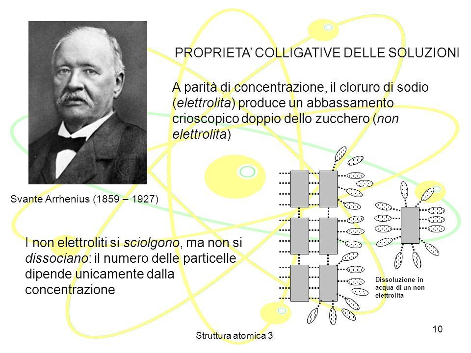 Struttura atomica 3 9 Per alcuni studiosi però gli elettroni non potevano ancora essere ritenuti parte della materia, perché lelettricità non è materi