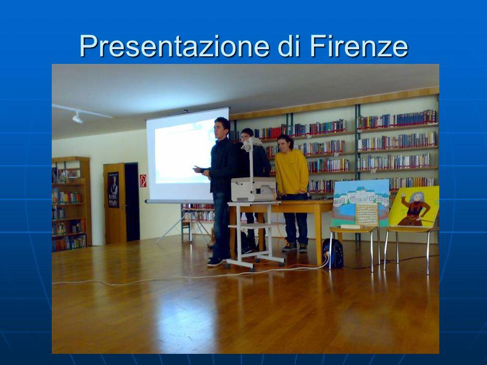 Presentazione di Firenze
