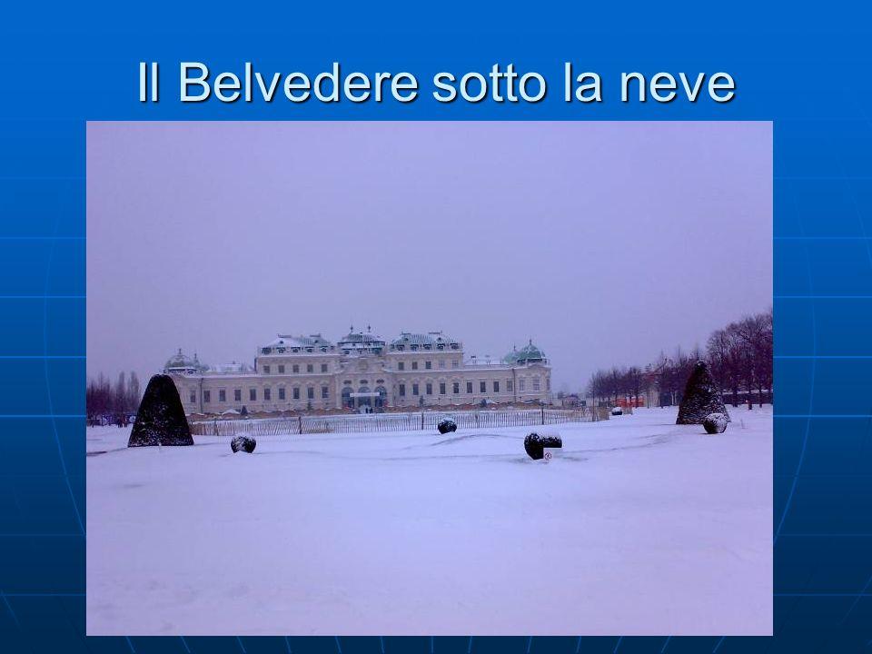 Il Belvedere sotto la neve