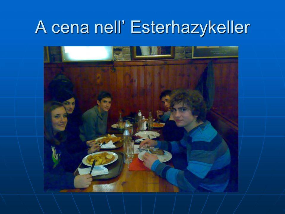 A cena nell Esterhazykeller