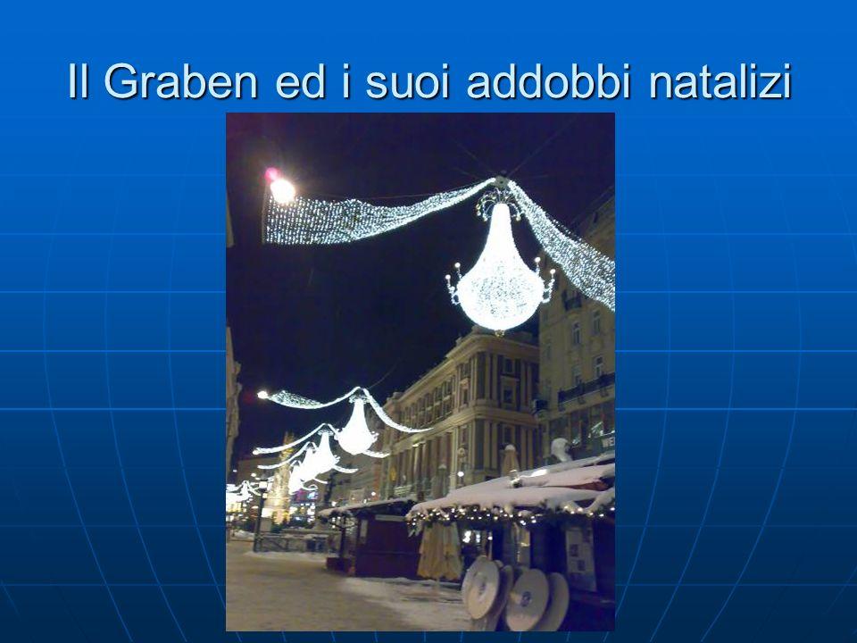 Il Graben ed i suoi addobbi natalizi