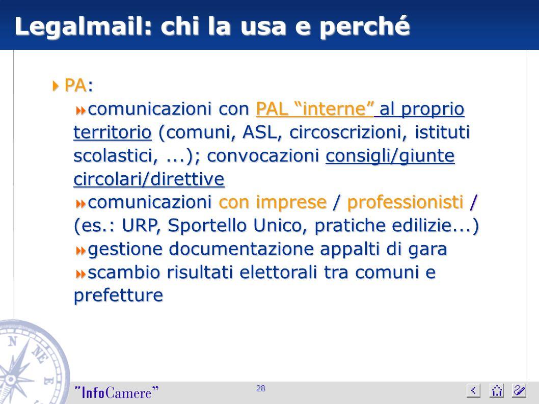 28 PA: PA: comunicazioni con PAL interne al proprio territorio (comuni, ASL, circoscrizioni, istituti scolastici,...); convocazioni consigli/giunte ci