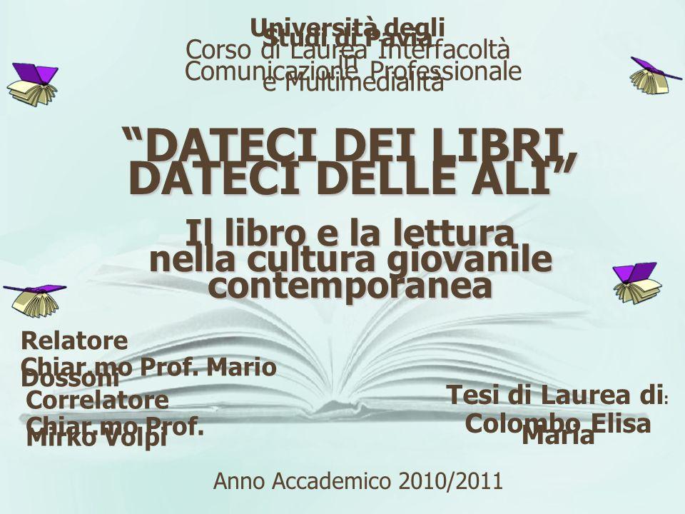 Famiglia Scuola … e promotori Biblioteca Libreria