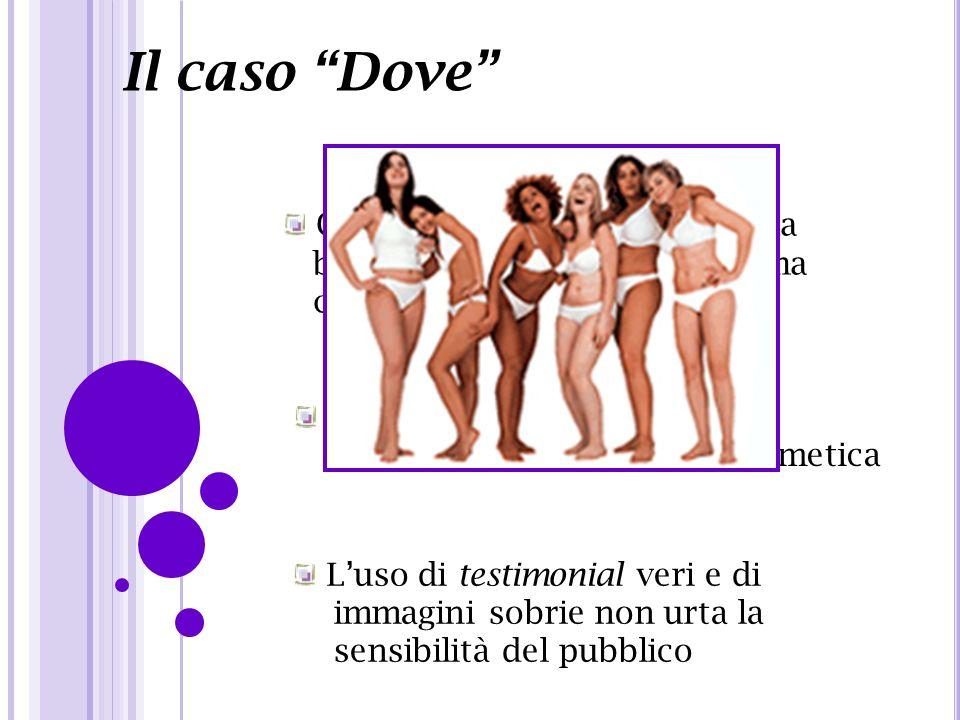 Il caso Dove Campagna pubblicitaria per la bellezza autenticae lautostima contro i disturbi alimentari Si discosta da tutte le altre pubblicità dei pr