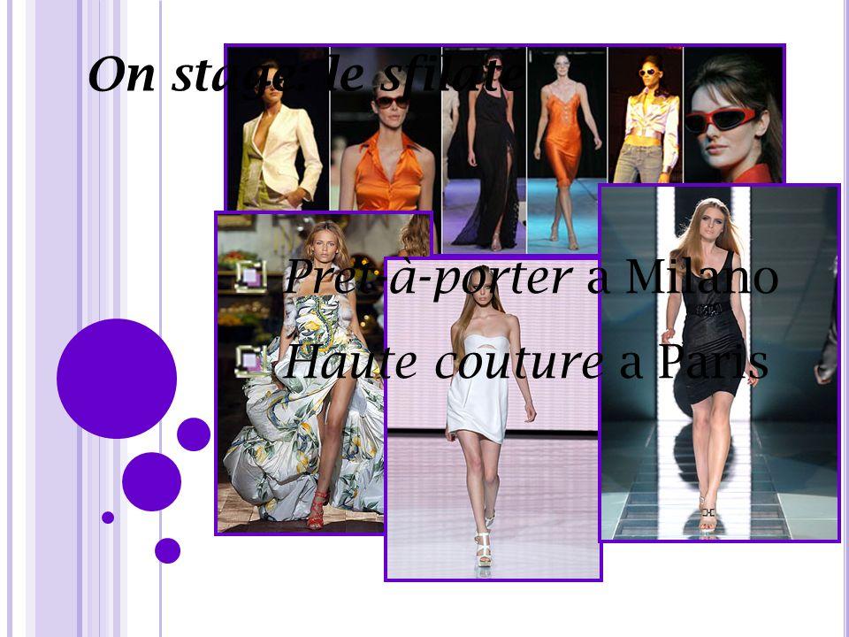 On stage: le sfilate Pret-à-porter a Milano Haute couture a Paris