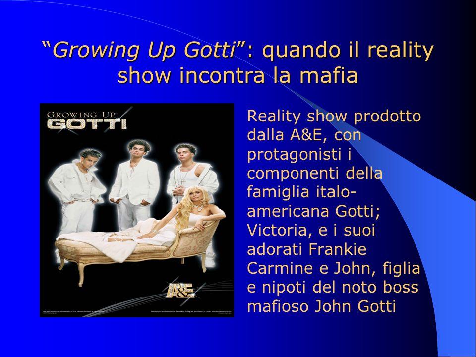 Growing Up Gotti: quando il reality show incontra la mafiaGrowing Up Gotti: quando il reality show incontra la mafia Reality show prodotto dalla A&E,