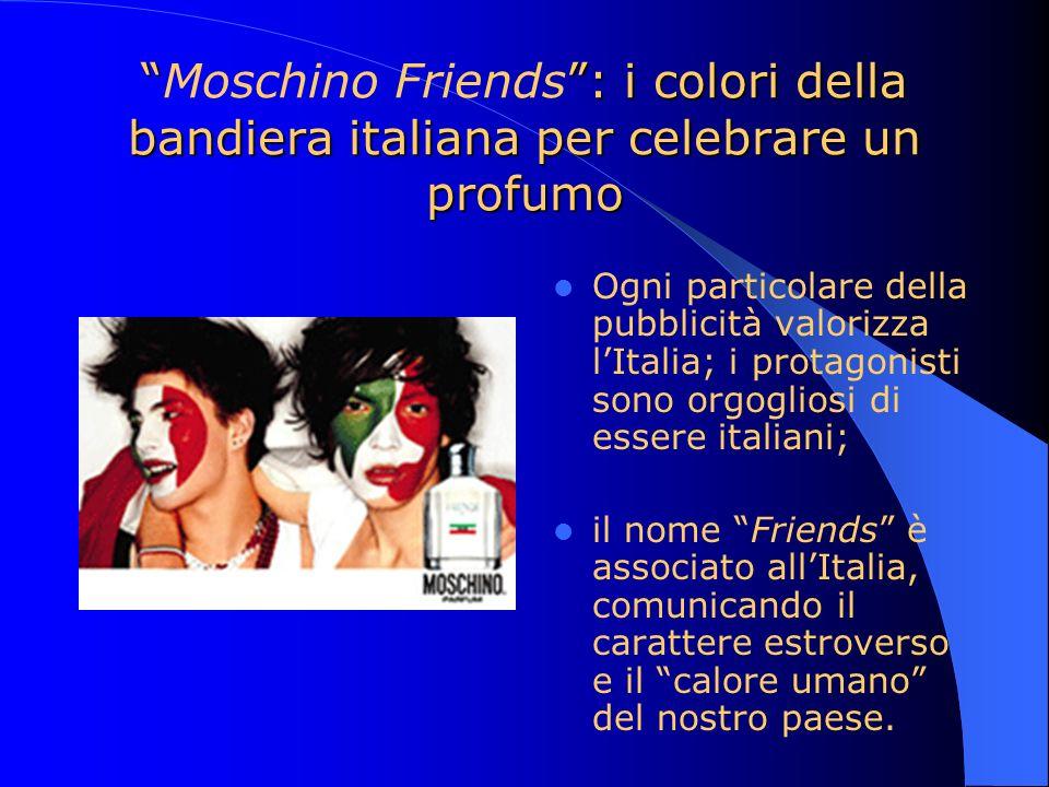 : i colori della bandiera italiana per celebrare un profumoMoschino Friends: i colori della bandiera italiana per celebrare un profumo Ogni particolar