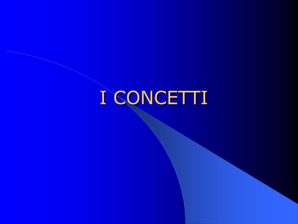I CONCETTI