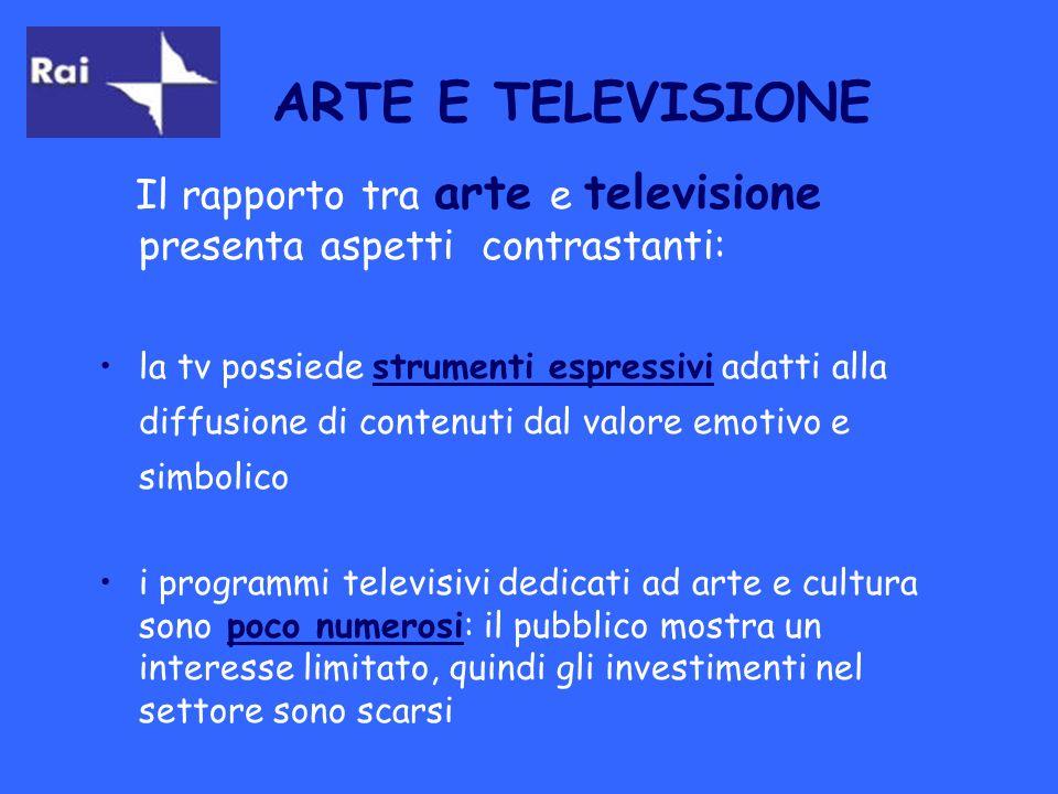 OBIETTIVO DELLA RICERCA: verificare quanto spazio viene dedicato dai telegiornali a notizie relative ad arte e cultura