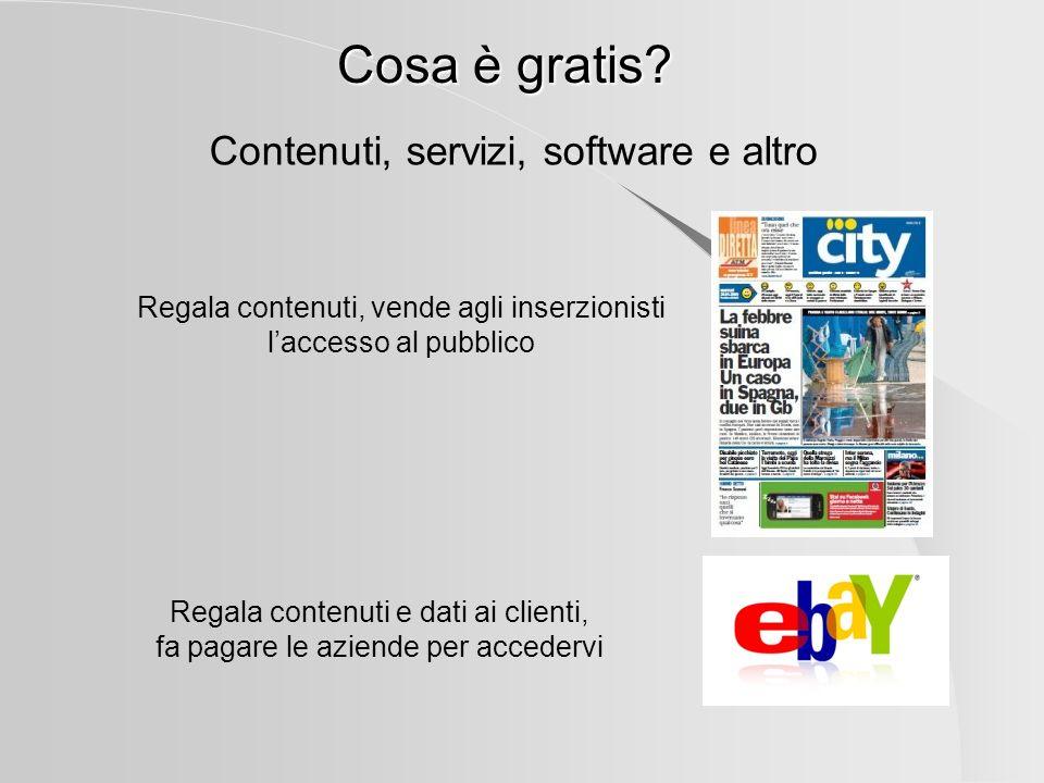 Il Freemium Il tradizionale campione gratuito ha costi reali, perciò il produttore ne distribuisce solo una piccola quantità sperando di stimolare la domanda Per i produttori digitali, il rapporto tra gratis e a pagamento si inverte.