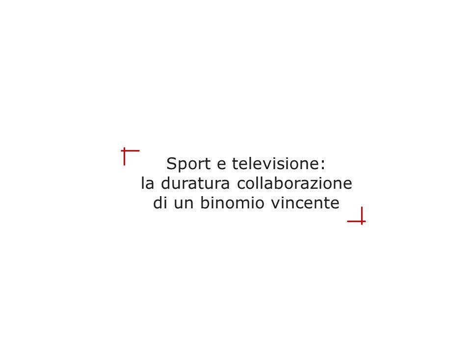 Sport e televisione: la duratura collaborazione di un binomio vincente
