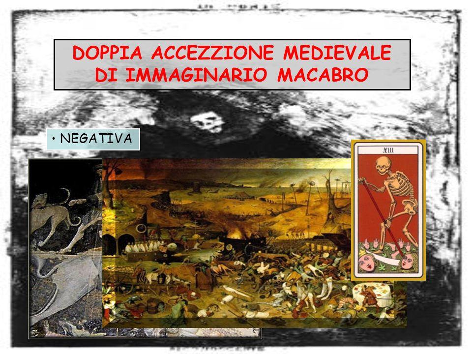 DOPPIA ACCEZZIONE MEDIEVALE DI IMMAGINARIO MACABRO NEGATIVA