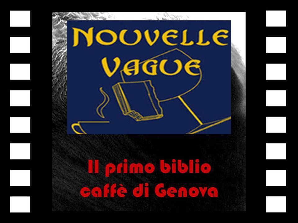 Il primo biblio caffè di Genova