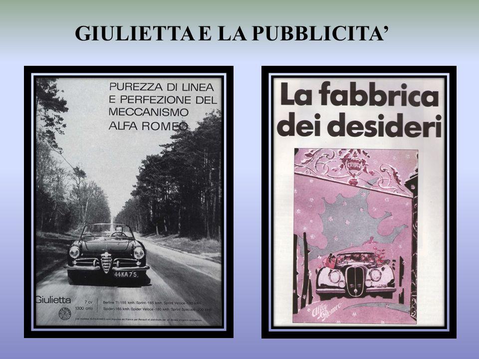 GIULIETTA E LA PUBBLICITA