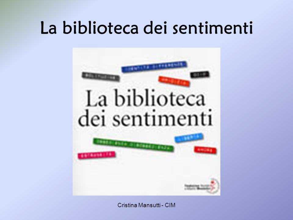 Cristina Mansutti - CIM La storia; analisi dellevento; suggerimenti.